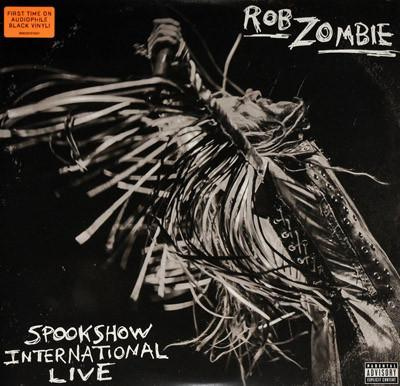 ZOMBIE, ROB - SPOOKSHOW - INTERNATIONAL LIVE Black vinyl (2LP)