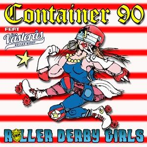 ROLLER DERBY GIRLS  Limited edtition 250 copies