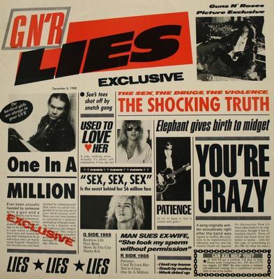 GUNS N ROSES - LIES Reissue (LP)