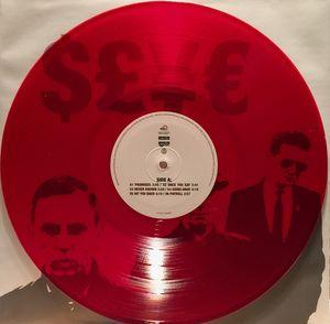 INDUSTRIAL COMPLEX  Red Vinyl , Limited Edition 133 copies
