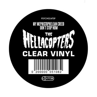 MY MEPHISTOPHELIAN CREED / Don´t stop now   Clear transparent Vinyl 500 copies , we found a handful