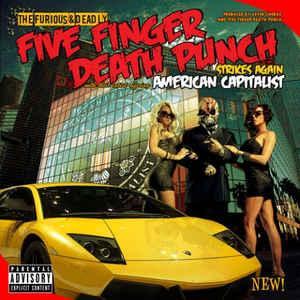 FIVE FINGER DEATH PUNCH - AMERICAN CAPITALIST (LP)
