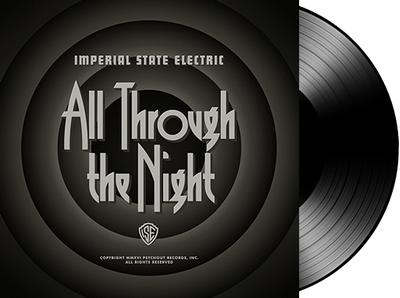ALL THROUGH THE NIGHT  Black vinyl