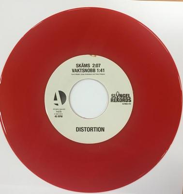 4 TRACK EP   Swedish early punk  recorded 1982.  Red vinyl Lim.Ed. 300 copies