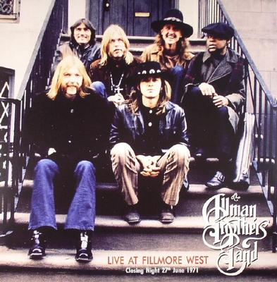ALLMAN BROTHERS BAND, THE - LIVE AT FILLMORE WEST 180g Closing night 27th June 1971 (2LP)