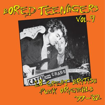 VOL. 9   COMPILATION    Rare UK Punktracks 77-82, incl. great booklet