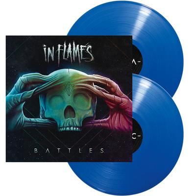 IN FLAMES - BATTLES  Limited blue vinyl (2LP)