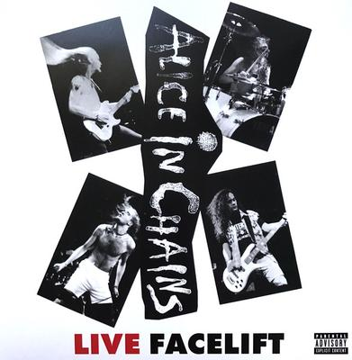 ALICE IN CHAINS - LIVE FACELIFT  Individually numbered ed of 3500. (LP)
