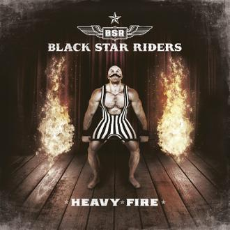 BLACK STAR RIDERS - HEAVY FIRE   3rd album, Black vinyl (LP)