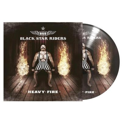 BLACK STAR RIDERS - HEAVY FIRE   Limited Picture Disc (LP)