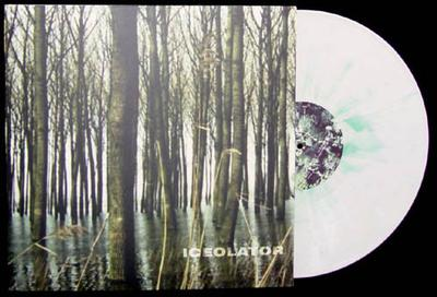 PLaTEAU - ICEOLATION  White/green splatter vinyl. (LP)
