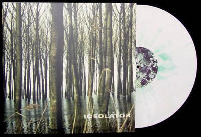 PLaTEAU - ICEOLATION  White/green splatter vinyl. (LP)