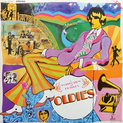 "BEATLES, THE - A COLLECTION OF BEATLES OLDIES Dutch ""Fame"" re-issue from the 80:s (LP)"