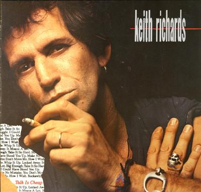 RICHARDS, KEITH - TALK IS CHEAP German edition (LP)