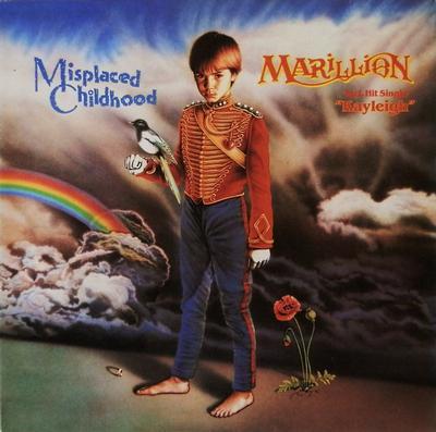 MARILLION - MISPLACED CHILDHOOD Dutch pressing, gatefold sleeve (LP)
