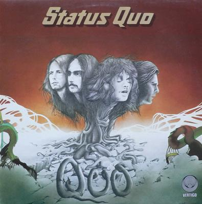 STATUS QUO - QUO UK Original Pressing With Lyrics Insert (LP)