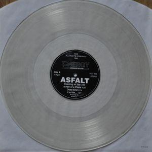 A HELL OF A PLACE Clear Vinyl