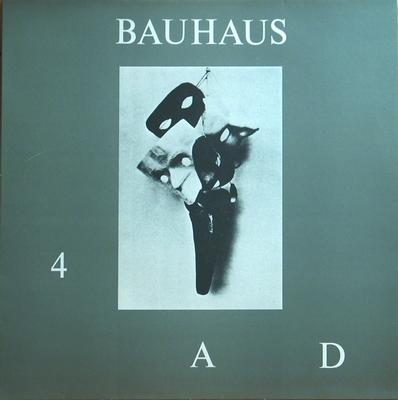 4AD White B-Side Label
