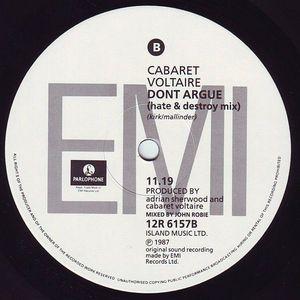 DON''T ARGUE / Don''t Argue (Hate & Destroy Mix)