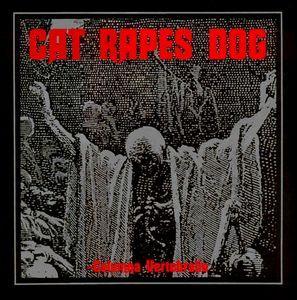 "CAT RAPES DOG - COLUMNA VERTEBRALIS Rare Swedish Pressing With Innersleeve (12"")"