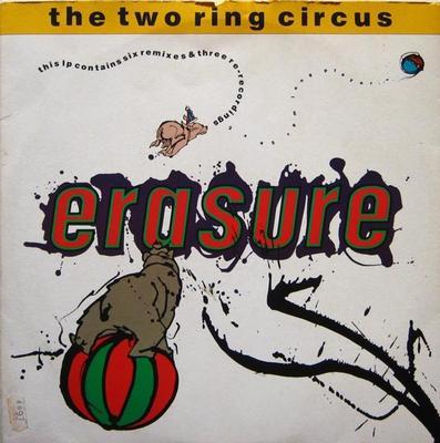 ERASURE - THE TWO RING CIRCUS Double album, remix versions, Scandinavian edition (2LP)