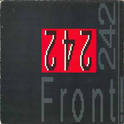 FRONT 242 - FRONT BY FRONT Swedish pressing (LP)