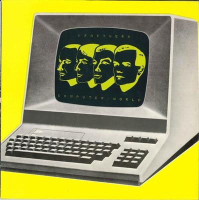 KRAFTWERK - COMPUTER WORLD Dutch Pressing With Innersleeve (LP)