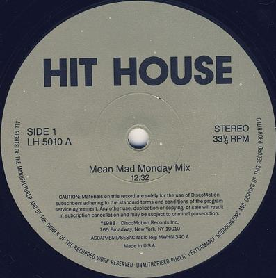 MEAN MAD MONDAY MIX