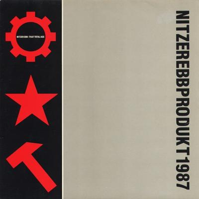 NITZER EBB - THAT TOTAL AGE UK Original Pressing With Innersleeve (LP)