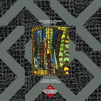 PROPAGANDA - WISHFUL THINKING UK pressing (LP)