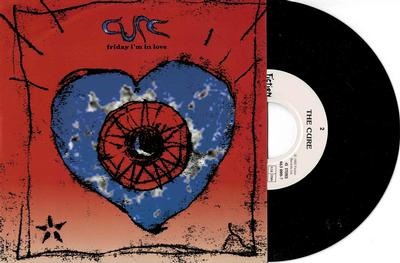 "CURE, THE - FRIDAY I''M IN LOVE / Halo German pressing (7"")"