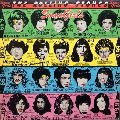 ROLLING STONES, THE - SOME GIRLS Uncensored German Pressing Original With Die Cut Cover & Innersleeve (LP)