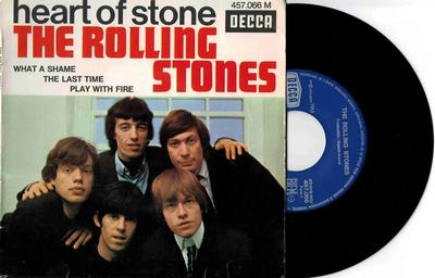 """ROLLING STONES, THE - HEART OF STONE French EP (7"""")"""