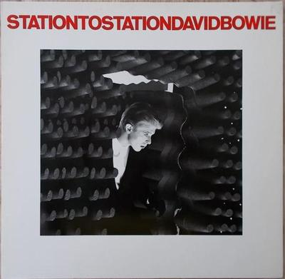 BOWIE, DAVID - STATION TO STATION German 1983 re-issue (LP)