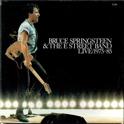 SPRINGSTEEN, BRUCE - LIVE/ 1975-1985 European Pressing, Complete With Innersleeves & Booklet (5LP)