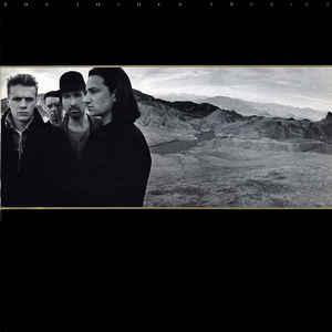U2 - THE JOSHUA TREE German pressing, gatefold, with insert (LP)