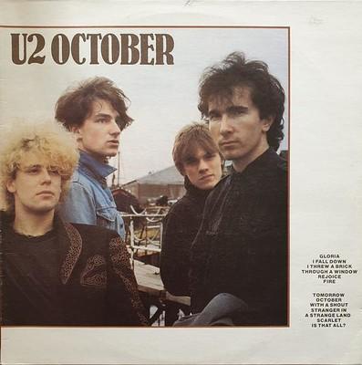 U2 - OCTOBER Swedish pressing (LP)