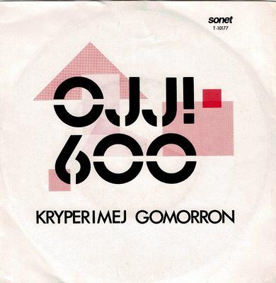 """OJJ! 600 - KRYPER I MEJ / GOMORRON Dag Vag related (7"""")"""