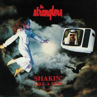 """STRANGLERS, THE - SHAKIN'' LIKE A LEAF / Hitman (7"""")"""