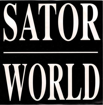 "SATOR - WORLD / SERGEANT Swedish original (7"")"