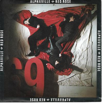 "ALPHAVILLE - RED ROSE / CONCRETE SOUNDTRAXX FOR IMAGINARY FILMS I German ps (7"")"