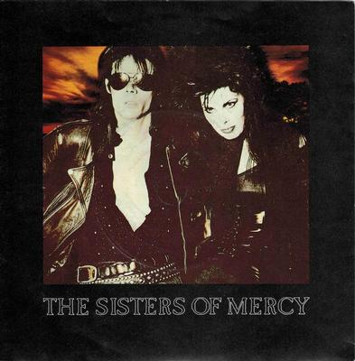 "SISTERS OF MERCY, THE - THIS CORROSION / TORCH UK ps, silver injection labels (7"")"