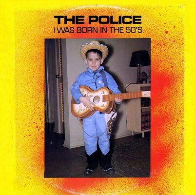 POLICE, THE - I WAS BORN IN THE 50'S Live from 1979, double album (LP)
