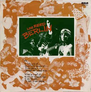 REED, LOU - BERLIN (GER) Re-issue (LP)