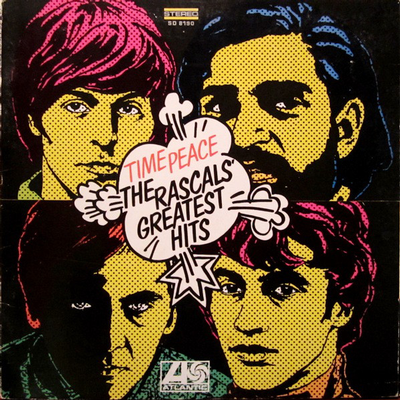 RASCALS, THE - TIME PEACE: THE RASCALS' GREATEST HITS US First Pressing, Gatefold Cover (LP)