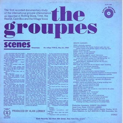 THE GROUPIES Rare Cult Record About The Groupie-Culture