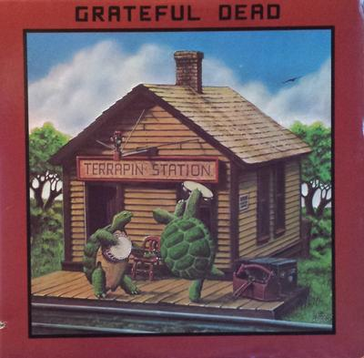 GRATEFUL DEAD, THE - TERRAPIN STATION US 1987 Pressing With Purple Arista Innersleeve (LP)