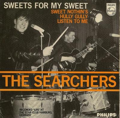 """SEARCHERS, THE - SWEETS FOR MY SWEET E.P. Dutch original (7"""")"""