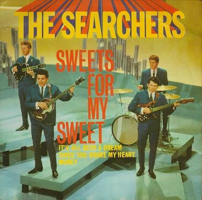 """SEARCHERS, THE - SWEETS FOR MY SWEET E.P. U.K. original (7"""")"""