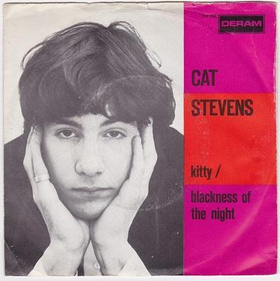 "STEVENS, CAT - KITTY / Blackness Of The Night Dutch pressing (7"")"